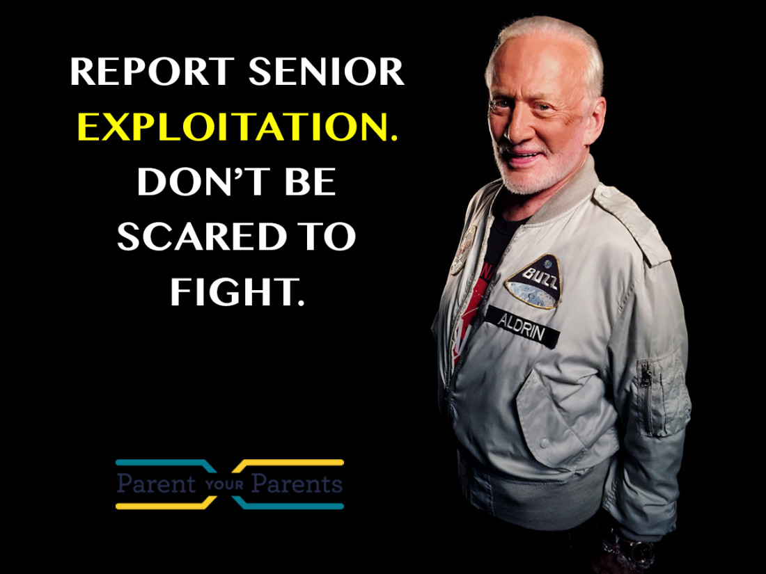 Senior Exploitation - The Buzz Aldrin Story